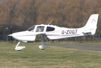 G-ZOGT @ EGBJ - Cirrus SR20 at Gloucestershire Airport - by Terry Fletcher