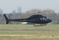 G-LENI @ EGBJ - AS355F1 at Gloucestershire Airport - by Terry Fletcher