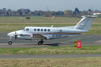 G-KVIP @ EGBJ - Beech 200 at Gloucestershire Airport