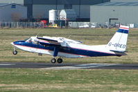 G-ORED @ EGBJ - BN2T Islander at Gloucestershire Airport