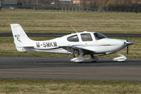 M-SMKM @ EGBJ - Cirrus SR22 at Gloucestershire Airport - by Terry Fletcher