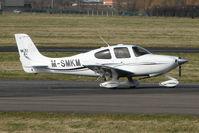M-SMKM @ EGBJ - Cirrus SR22 at Gloucestershire Airport