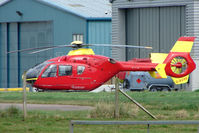 G-BZRS @ EGBJ - EC135T2 at Gloucestershire Airport
