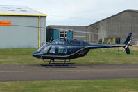 G-WIZZ @ EGBJ - Bell 206B at Gloucestershire Airport