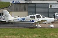 N10MC @ EGBJ - Cirrus SR22 at Gloucestershire Airport