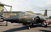 104805 @ EGXC - CF-104 Starfighter in the static display at the 1979 Coningsby Open Day. - by Peter Nicholson