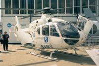 F-GMON @ LFPB - Eurocopter EC135 T1 of SAMU (EMS) at Aerosalon Paris 1997