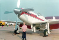 N51GY @ KGSW - At Great Southwest Airport, Fort Worth, TX - CAF Airshow - That's me! (Photo taken by my father Charles W. Adams