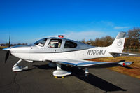 N100MJ @ 47N - An SR-22 at Central Jersey - by Bruce Vinal