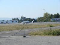 CS-AHN @ LPBR - Cessna 172 aeroclube braga at Braga aerodrome. Portugal - by ze_mikex