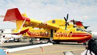 F-ZBFQ @ LFPB - Canadair CL-415-6B11 of the Securite Civile at the Aerosalon Paris 1997