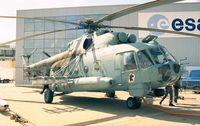 RA-25755 @ LFPB - Mil Mi-8AMTS HIP at the Aerosalon Paris 1997