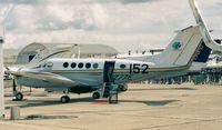 N4277E @ LFPB - Beechcraft B200 King Air at the Aerosalon Paris 1997