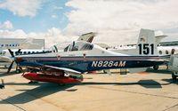 N8284M @ LFPB - Beechcraft PD 373 T-6 Texan II at the Aerosalon Paris 1997
