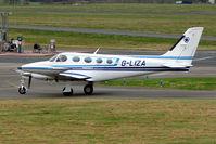 G-LIZA @ EGBJ - Cessna340A at Staverton