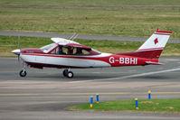 G-BBHI @ EGBJ - Cessna 177RG at Staverton - by Terry Fletcher