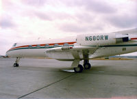 N36RR @ FTW - Registered as N680RW The Wind Ship written on the nose. At Meacham Field 1980