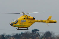 G-LNAA @ EGBJ - Lincolnshire and Nottinghamshire's MD900 Air Ambulance at Staverton