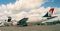 N740SC @ LFPB - Airbus A300 B4-203 of Heavylift at the Aerosalon Paris 1997