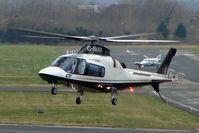 G-IMAR @ EGBJ - Agusta A109E at Staverton