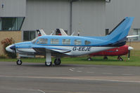 G-EEJE @ EGBJ - Piper PA-31 at Staverton