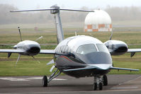 D-IPPY @ EGBJ - Piaggio P180s - love them or hate them ??? - by Terry Fletcher