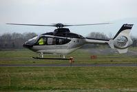 G-HOLM @ EGBJ - EC135T2+ at Staverton