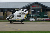 G-GNAA @ EGBJ - Great Northern Air Ambulance on maintenance at Staverton