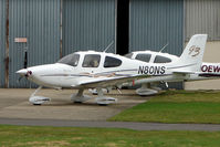 N80NS @ EGBJ - Cirrus SR22 at Gloucestershire Airport