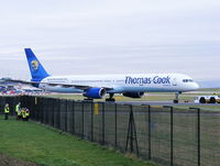G-JMAA @ EGCC - Thomas Cook - by Chris Hall