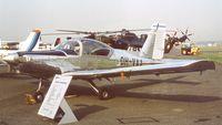 OH-VAA @ EGLF - Valmet L-70 Vinka at Farnborough International 1982