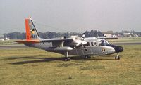 G-MAFF @ EGLF - Britten-Norman BN-2T Islander at Farnborough International 1982