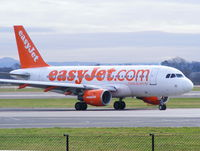 G-EZDA @ EGCC - Easyjet - by Chris Hall