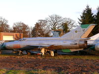 2008 - Mikoyan Mig21M Fishbed 2008 Polish Air Force part of the collection of Mr Piet Smets from Baarlo (PH) and stored in a small compound in Kessel (PH) - by Alex Smit