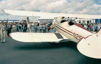 N250YM @ LFPB - Waco YMF at the Aerosalon Paris 1997