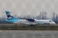 OM-VRB @ LZIB - Danube Wings Aerospatiale ATR-72
