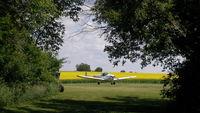 CF-VCH - VCH in Saskatchewan landscape - by Owner Dave Gillespie