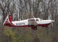 N124TN @ DTN - About to touch down at the Shreveport Downtown airport. - by paulp