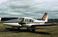 G-BAVW - This Aztec was a visitor to the 1978 Strathallan Open Day. - by Peter Nicholson