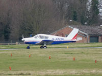 G-ATDA @ EGSC - G-ATDA Departing Cambridge - by Andy Parsons