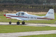 G-SKYC @ EGNG - Slingsby T67M at Bagby Airport