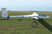 G-OJNE - Glider at Sutton Bank