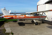 G-ATRM @ EGNG - Cessna F150F at Bagby