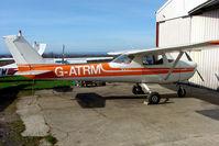 G-ATRM @ EGNG - Cessna F150F at Bagby
