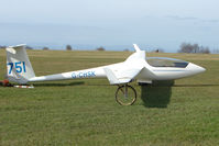 G-CHSK - Glider at Sutton Bank