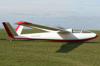 G-DEJH - Glider at Sutton Bank