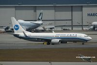 B-5389 @ VHHH - Xiamen Airlines - by Michel Teiten ( www.mablehome.com )