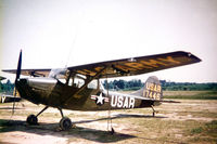 51-7446 @ ETIE - US Army L-19 (O-1A Bird Dog) at Heidelburg AAF - by Zane Adams