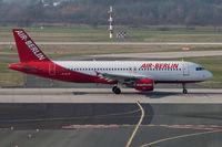 D-ALTF @ DUS - Airbus A320-214