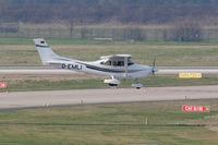 D-EMLI @ DUS - Germany - Police Cessna 182S Skylane - by Juergen Postl